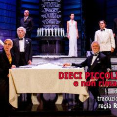 """Al Teatro Quirino di Roma, """"Dieci piccoli indiani"""" di A. Christie (dal 2 al 21 gennaio)"""