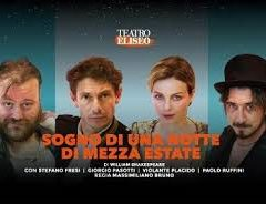 """Teatro Eliseo di Roma Sino al 28 gennaio, """"Sogno di una notte di mezza estate"""" Regia di M. Bruno"""