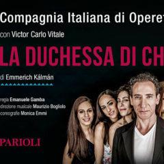 """""""La Duchessa di Chicago"""" al Teatro Parioli di Roma"""