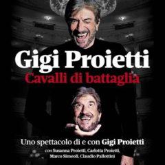 """Cavea Auditorium Parco della Musica di Roma: il 20 giugno ore 21 ritorna """"Cavalli di battaglia"""" con Gigi Proietti"""