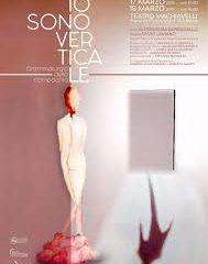 """Femmin-eccidi. """"Io sono verticale"""" di Silvio Laviano, con A. Barbagallo, liberamente ispirato a Sylvia Plath"""