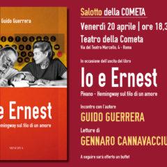 """""""Io ed Ernest"""". Guido G. Guerrera racconta Fernanda Pivano e il suo amico Hemingway in un volume ed. da Minerva"""