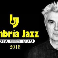 Still making sense. David Byrne il 20 luglio a Umbria Jazz