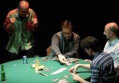 'Poker' di Patrick Marber al Teatro Duse di Genova 28 dicembre – 5 gennaio