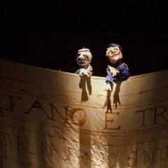 Il metateatro nella Tempesta di Shakespeare per fantocci e attore solo al Teatro Elfo Puccini di Milano