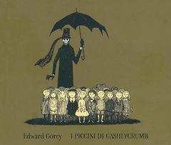 L'alfabeto nero di Edward Gorey. 'I piccini di Gashlycrumb', ed. Adelphi