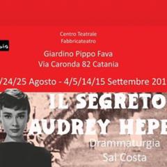 """L'altra faccia di una diva: """"Il segreto di Audrey Hepburn"""" della compagnia Fabbricateatro di Catania"""