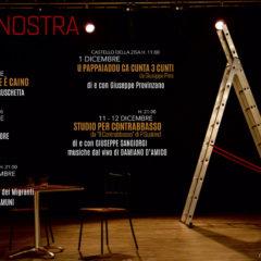 Cantieri Culturali alla Zisa di Palermo 14 novembre | Riparte il focus 'Scena Nostra'