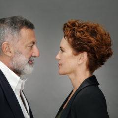 Teatro Eliseo di Roma 17/12-5/1 | Lucrezia Lante della Rovere e Luca Barbareschi insieme per il testo di David Hare 'Il cielo sopra il letto'