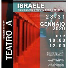 Roma Cometa Off 28-31 gennaio | 'Ascolta, Israele' regia di Valeria Freiberg