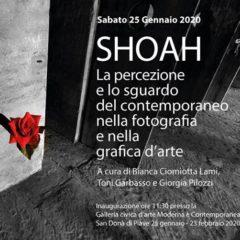 """San Donà della Pieve. Galleria d'Arte Moderna e Contemporanea. Inaugurazione della mostra """"Shoah"""" (25 gennaio)"""