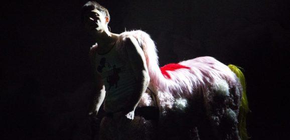 Il Centauro prigioniero. 'Skianto' di Filippo Timi al Niccolini di Firenze