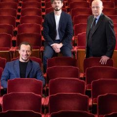 Stefano Accorsi Direttore Artistico Fondazione Teatro della Toscana 2021/2023, il Presidente Tommaso Sacchi e il Direttore Generale Marco Giorgetti annunciano la nomina