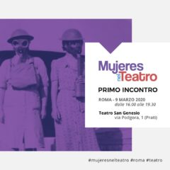 Mujeres nel Teatro_ lunedì 9 marzo_ Teatro San Genesio Roma