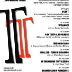 """Teatro Trastevere: dal 20 giugno al 5 luglio 2020 ore 21 """"PROLOGO"""" …dove eravamo rimasti"""