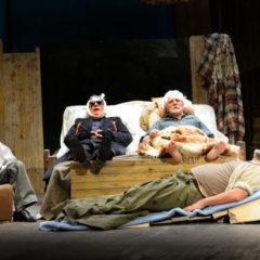 Una livella molto beckettiana. 'Dipartita finale' di Franco Branciaroli, con Gianrico Tedeschi, al Teatro Biondo di Palermo