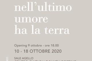 Crema Centro Culturale Sant'Agostino: Venerdì 9 ottobre alle 18 inaugura 'Nell'ultimo umore ha la terra', doppia personale degli artisti Gaia Bellini & Ludovico Colombo