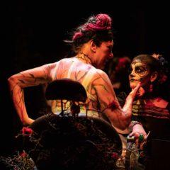 Pamela Villoresi è Frida Kahlo nello spettacolo 'Viva la vida', allo Steri di Palermo per la stagione estiva del Teatro Biondo