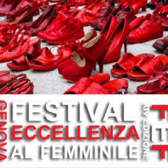 25 novembre, Festival dell'Eccellenza al Femminile: maratona online contro la violenza