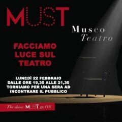 «Facciamo luce sul Teatro». L'iniziativa dell'Unione Nazionale Interpreti Teatro e Audiovisivi al Musco di Catania